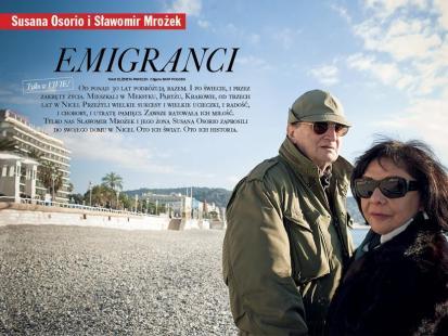 Susana Osorio i Sławomir Mrożek - Ich historia, ich świat