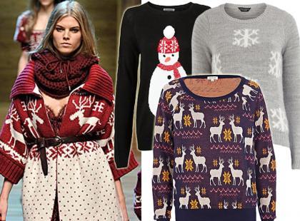 Swetry i bluzy ze świątecznym akcentem z polskich sklepów
