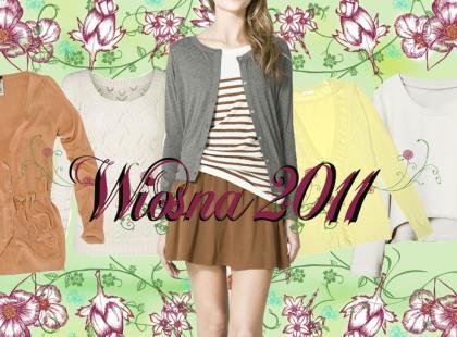 Swetry na wiosnę i lato 2011- Przegląd We-Dwoje.pl