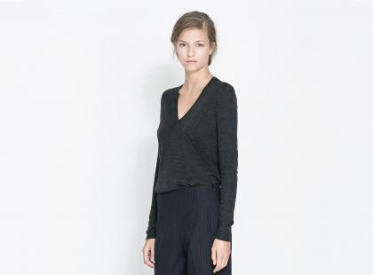 Swetry Zara na jesień i zimę 2013/14