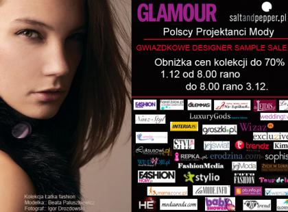 Świąteczne designer sample sale w saltandpepper.pl