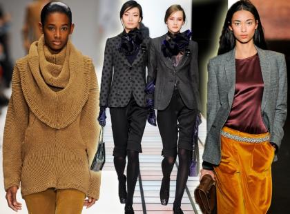 Świąteczne inspiracje z zimowych wybiegów mody