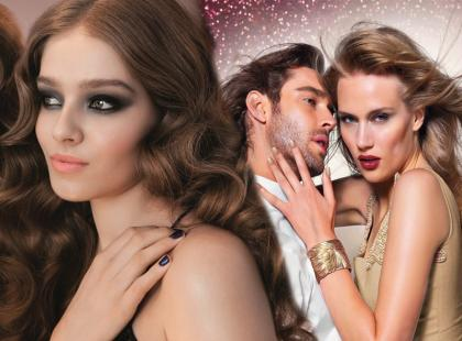 Świąteczne makijaże od marki Misslyn i Gosh