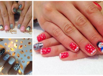 Świąteczne motywy na paznokciach