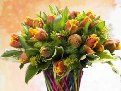 Świąteczne, roślinne dekoracje