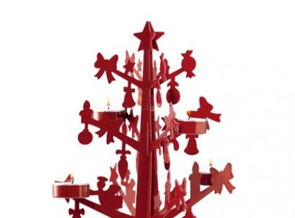 Świąteczny stół w czerwieni