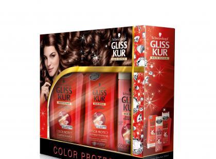 Świąteczny zestaw do włosów - Gliss Kur