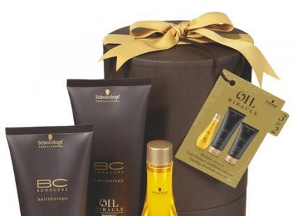Świąteczny zestaw kosmetyków BC Oil Miracle - Schwarzkopf Professional
