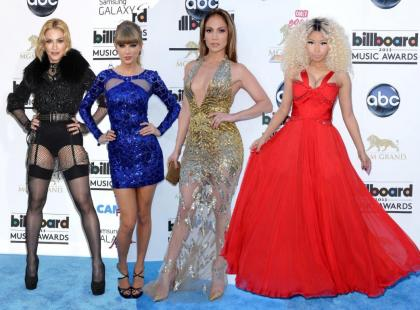 Światowe gwiazdy pop na gali Billboard Music Awards 2013