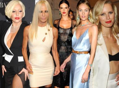 Światowe ikony mody na imprezie u Carine Roitfeld