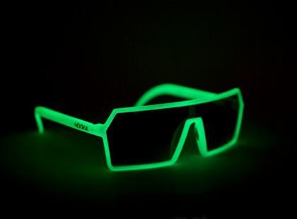 Świeciące okulary od Nooka
