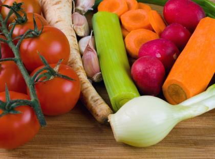 Świeże, młode warzywa, czyli wiosenne nowalijki