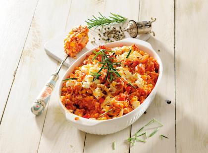 Sycący obiad dla całej rodziny - sprawdź nasze przepisy na zapiekankę z kurczakiem