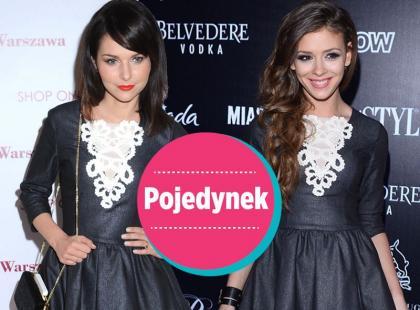 Sykut i Halejcio w takich samych sukienkach. Która lepiej?