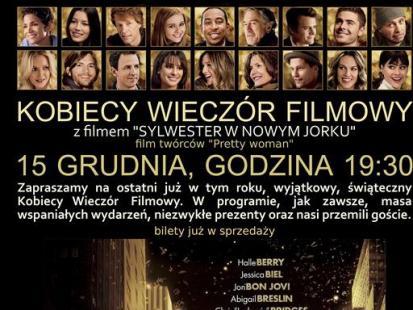 """""""Sylwester w Nowym Jorku"""" na Kobiecym Wieczorze Filmowym"""