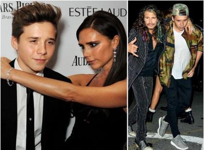 Syn Victorii Beckham upił się na pokazie Givenchy?!