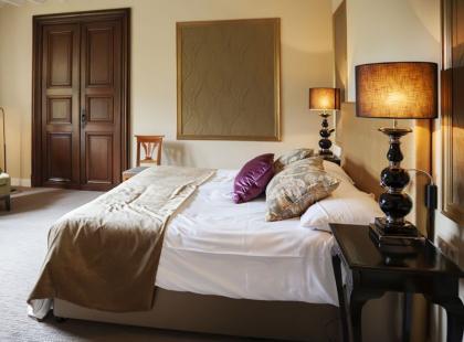 Sypialnia w brytyjskim stylu