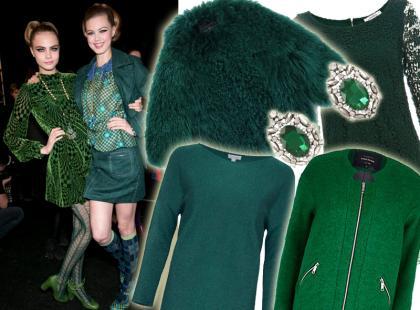 Szlachetna choinkowa zieleń: nasz przegląd ubrań i dodatków