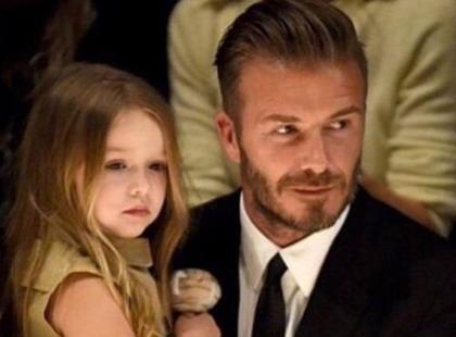 Szok! 4-letnia córka Beckhamów chodzi na manicure i pedicure