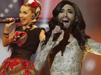 Szok na Eurowizji: Wygrywa kobieta z brodą, a jury zabiera Polsce aż 100 punktów!