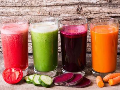 Szok! Poznaj działanie różnych smaków soków!