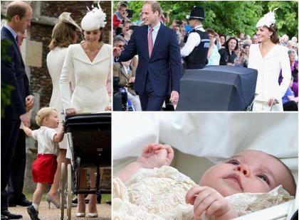 Szok! Tort podany na chrzcinach księżniczki Charlotte miał... 4 lata?!