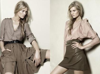 Szorty i skórzane kurtki w nowej kolekcji Zara na wiosnę i lato 2010