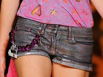 Szorty z dżinsu