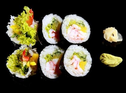 Sztuka podawania sushi