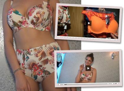 Szukamy idealnego, dwuczęściowego stroju kąpielowego [video]