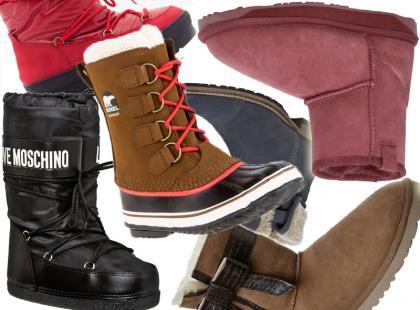 Szukujemy się na mrozy, czyli 25 par modnych butów