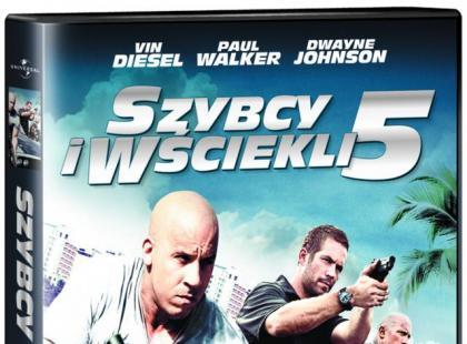 """""""Szybcy i wściekli 5"""" na DVD"""