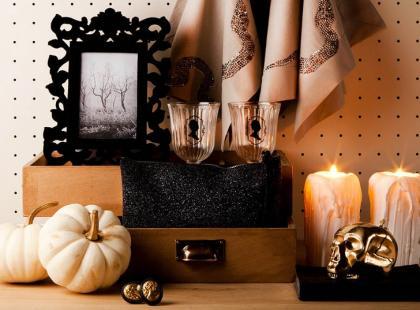 Szybki wystrój mieszkania na Halloween