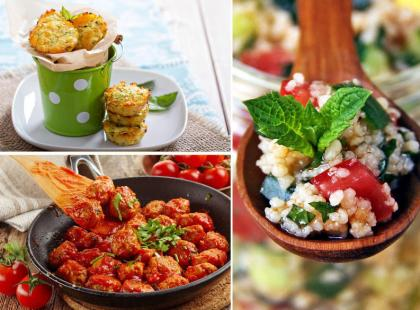 Szybkie i lekkie obiady na gorące dni