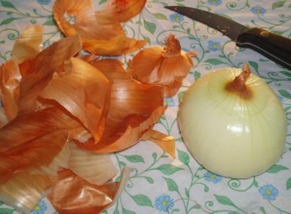 Szybkie obieranie cebuli