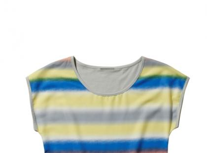 T-shirt w paski - C&A