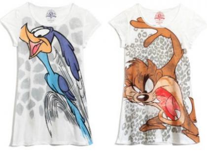 T-shirty prosto z wytwórni Warner Bross