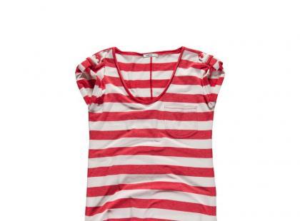 T-shirty w stylu marynistycznym na lato 2012