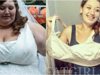 Ta kobieta schudła po ślubie 140 kg, bo chciała odmienić swoje życie i móc zajść w ciążę. Zobaczcie jak się zmieniła!