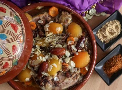 Tadżin – przepis na marokańskie danie z wołowiny