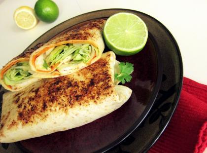 Tajskie burrito - Kasia gotuje z Polki.pl [video]