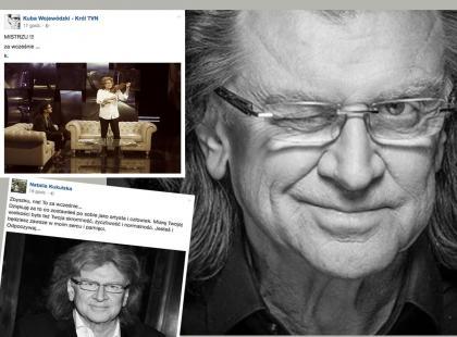 Tak artyści, przyjaciele żegnają Zbigniewa Wodeckiego. Nie zabrakło wspomnień, anegdot, ale i... wpadek