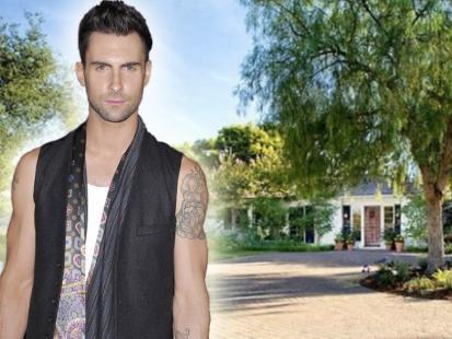Tak mieszka: Adam Levine z  Maroon-5