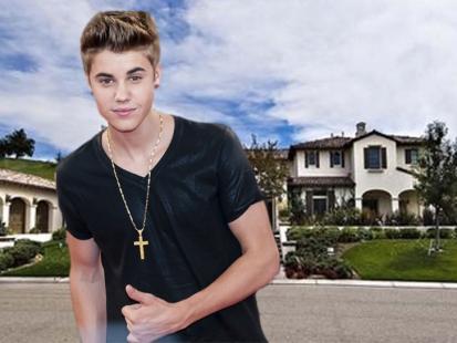 Tak mieszka: Justin Bieber