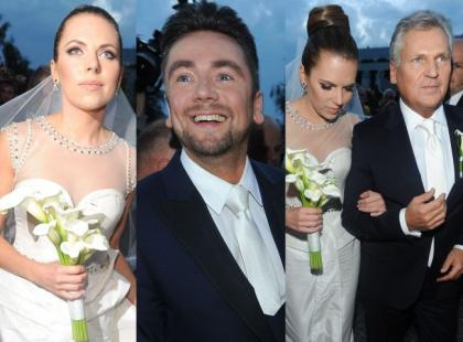Tak wyglądał ślub Oli Kwaśniewskiej i Kuby Badacha