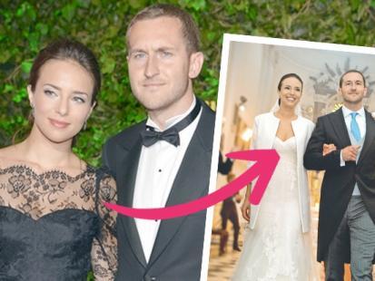 Tak wyglądali Czartoryska i Niemczycki na ślubie