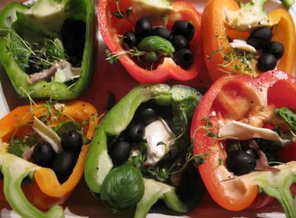 Taktouka, czyli marokańska potrawa z papryki