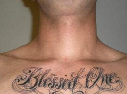 Tatuaże – napisy (galeria)