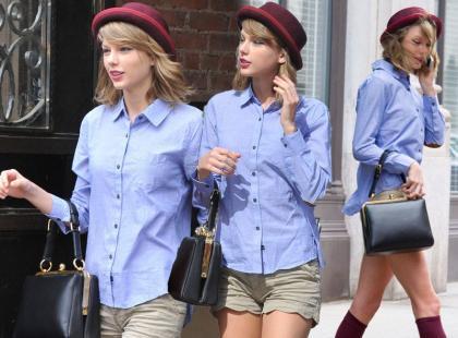 Taylor Swift w meloniku i podkolanówkach: hit czy kit?