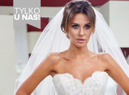 Te kreacje robią wrażenie! Zobacz suknię ślubną Natalii Siwiec